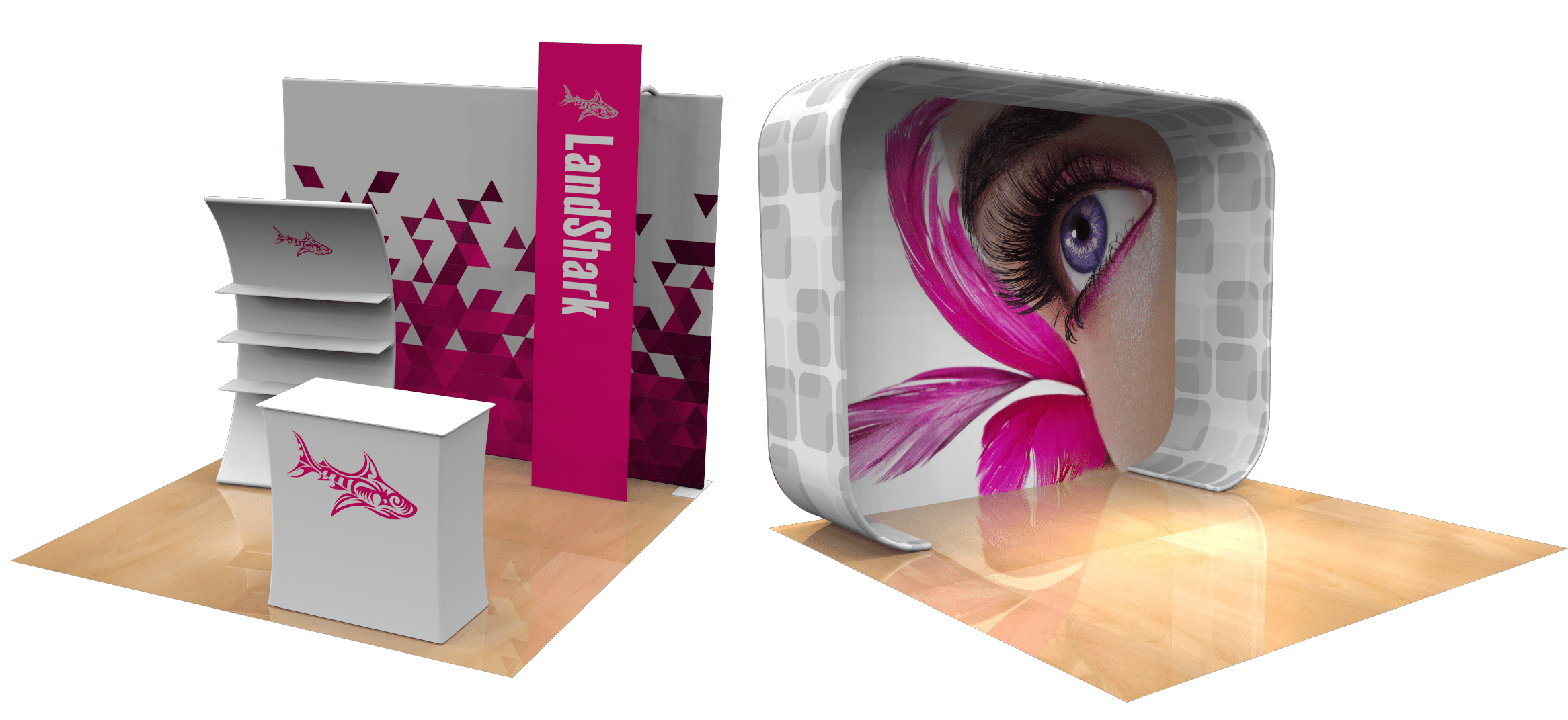 10×10 Trade Show Booth Concepts