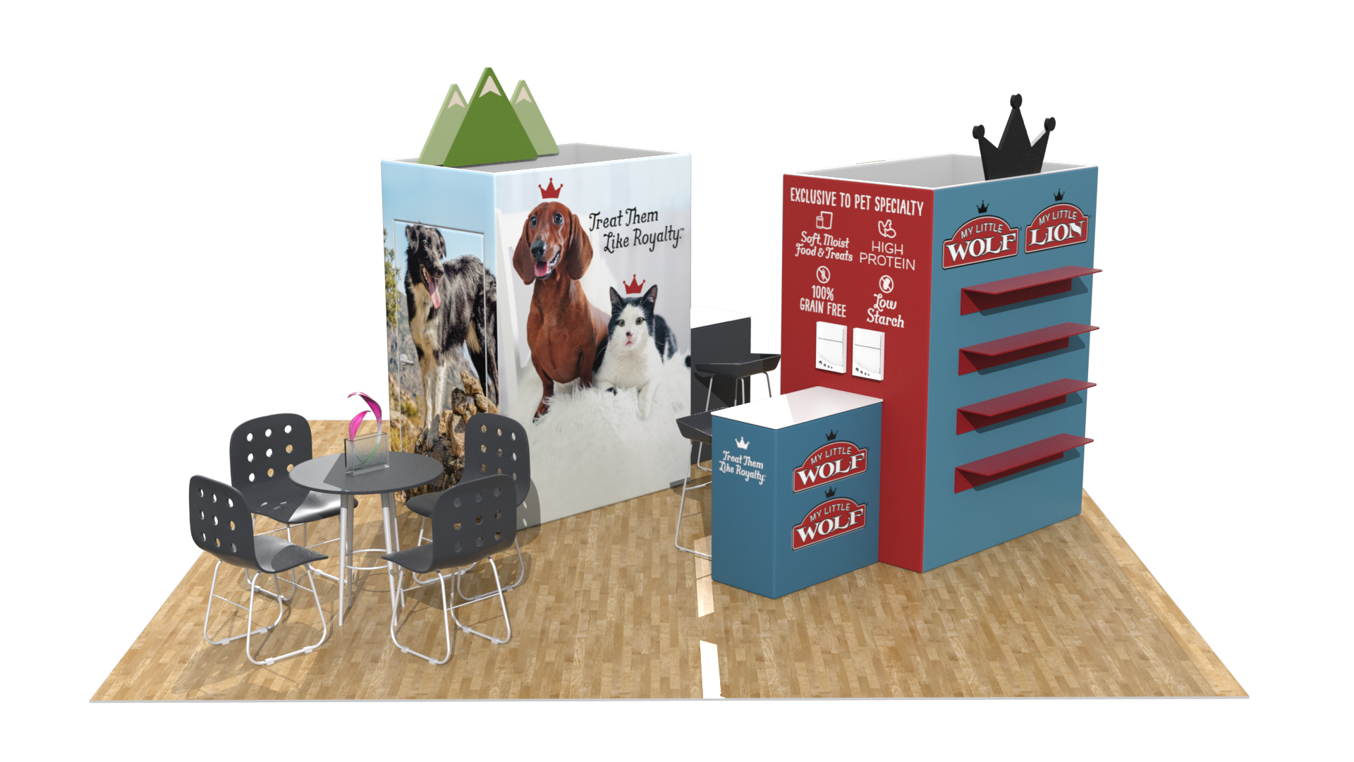 20×20 Booth Concepts