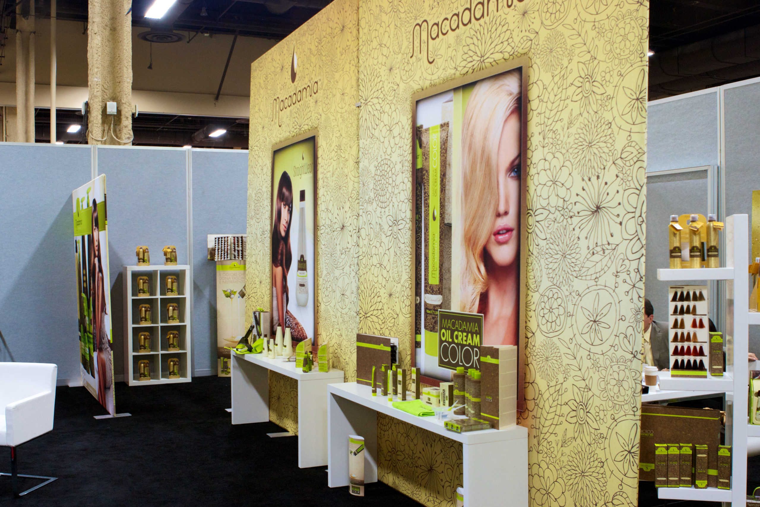Macadamia Trade Show Booth