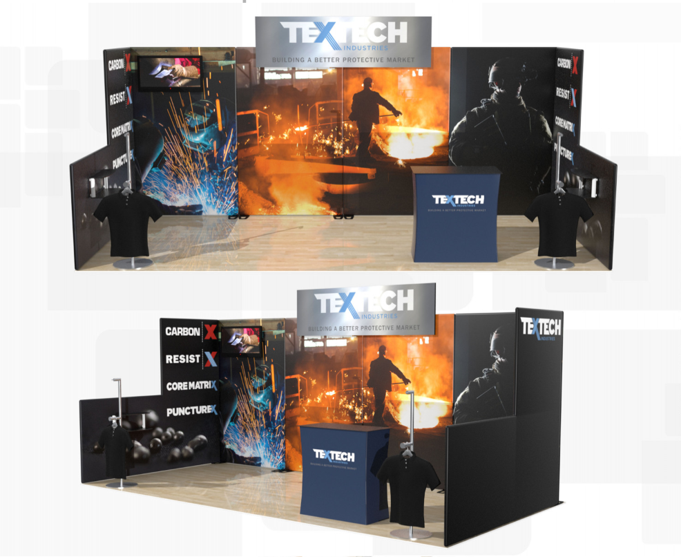 10×20 Booth Concepts
