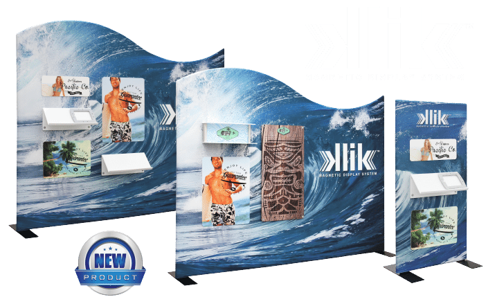 Klik Magnetic Display System